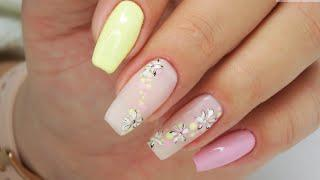 Spring nails art tutorial / Colours by Molly