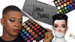 THE JAMES CHARLES X MORPHE PALETTE (Quick Tutorial) | Kingkouture