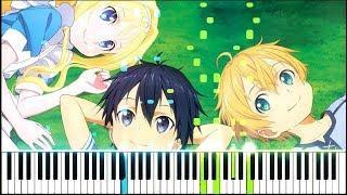 """[Sword Art Online: Alicization ED] """"Iris"""" - Eir Aoi (Synthesia Piano Tutorial)"""