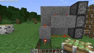 Redstone Tutorial Nederlands De Sliding Door