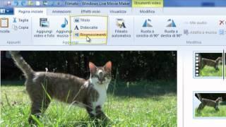 Windows 7 Tutorial Guida Utilizzare Windows Live Movie Maker Italiano Seconda Parte