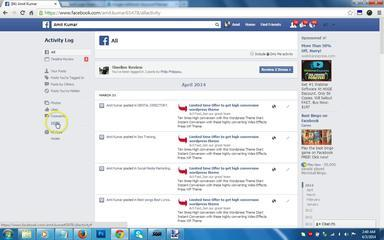 How To Delete Search History In Facebook - Facebook Tutorial