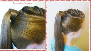 The Best Hair Wrapped Ponytail, Easy Hairstyle Tutorial