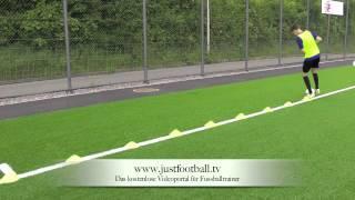 Ballführung/ -kontrolle Übung 1 - Www.justfootball.tv Joga Bonito Futebol Brasil