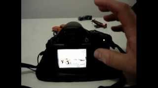 Canon SX40 HS - Tutorial - 1 Português - Foco Manual - Macro