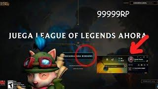 COMO DESCARGAR E INSTALAR LEAGUE OF LEGENDS WIN7/8/10 TUTORIAL 2019