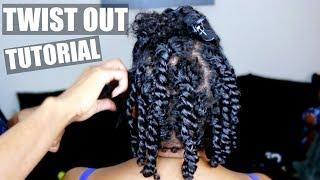 Watch Me: Moisturized Twist Out Tutorial On My Sisters Short Natural Hair