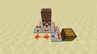 Compact Signal Strength Indicator -- Minecraft Redstone Tutorial