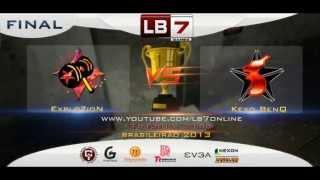 LB7 GAMES - Final Campeonato Brasileiro 13/04/13 - Explozion X Keyd BenQ