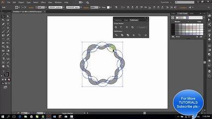 Adobe Illustrator CC Tutorial - Logo Designing