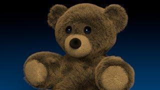Blender Tutorial: Fuzzy Stuffed Bear