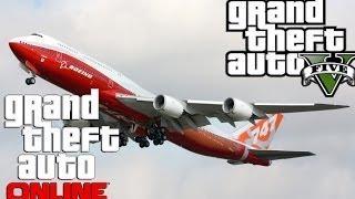 GTA 5 Online: Seltene Autos&Fahrzeuge / Boeing 747/ Tutorial/Deutsch