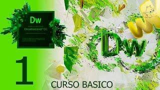 Dreamweaver CC, Tutorial Descarga E Inicio, Curso Básico Español, Capitulo 1
