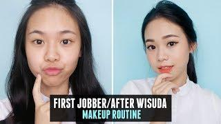 Daily Makeup Routine for First Jobber / After Wisuda! ENG SUB
