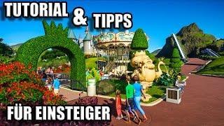 Planet Coaster Tutorial Deutsch - Einsteiger und Erste Schritte - Tutorial German