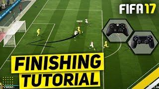 FIFA 17 SECRET FINISHING TUTORIAL - UNSAVEABLE SHOOTING TECHNIQUE TO SCORE EVERYTIME - BEST TRICK