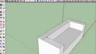 07 Sketchup Nederlands Tutorial Sofa Details Aanbrengen