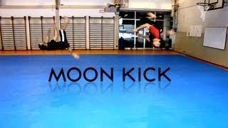 Moon Kick Tutorial - Italiano  [ How To Do A Moon Kick ]
