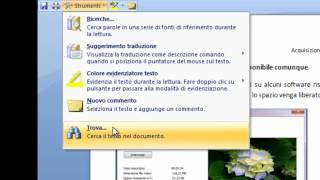 Microsoft Office Word 2007 2010 Tutorial Italiano Terza Parte Windows 7