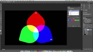 Photoshop Tutorials - Basic Fundamental Of Color In Digital Imaging #1 (Thai)
