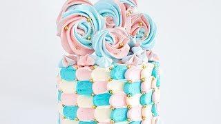 Petal / scale Buttercream Cake Tutorial- Rosie's Dessert Spot