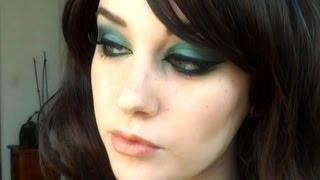 Arabic Inspired Emerald Make Up Tutorial.