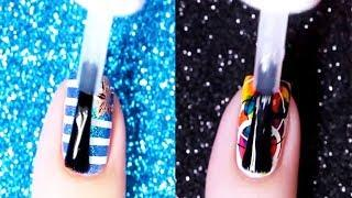 How to do Nails Art Designs Tutorial at Home | Top New Nail Polish Video Compilation 2018 #9