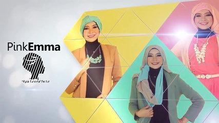Tutorial Hijab Pashmina Floral Untuk Kuliah