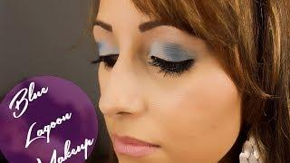 Blue Lagoon Makeup Tutorial - First English Tutorial With Urban Decay's Vice 2 Palette