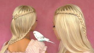 French Lace Braid Tutorial Cute Hairstyle For Short Medium Long Hair