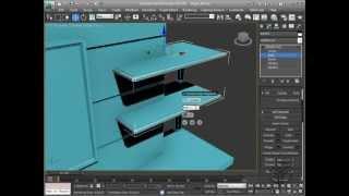 Autodesk 3ds Max Video Curso/Tutorial En Português :: Criando O Espelho: Bevel Command