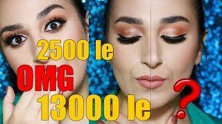 HALF DRUGSTORE vs HALF HIGH END MAKEUP TUTORIAL | Makeup Rebellion