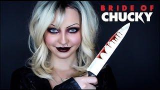 Bride Of Chucky - Tiffany Transformation Makeup Tutorial
