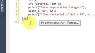 Recursion In C Programming Language