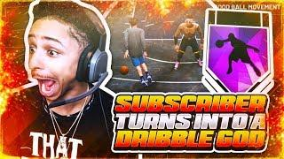 TURNED TRASH SUBSCRIBER INTO A DRIBBLE GOD