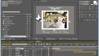 Tutorial After Effects Português - Álbum Casamento Digital PT 6 - 7