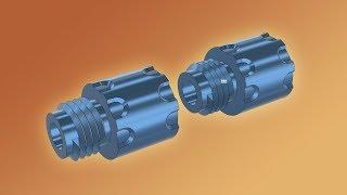 Fusion 360 Tutorial –Screw Threaded Parts