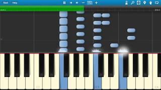 (HOWTO) Swedish House Mafia - Save The World (Piano Tutorial)