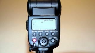 580ex Manual Flash