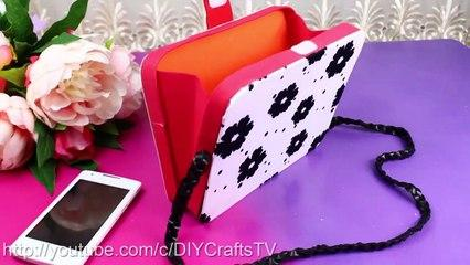 DIY CLUTCH PURSE BAG TUTORIAL NO SEW Easy