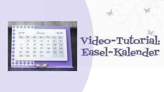 Tutorial: Easel-Kalender
