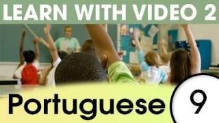 Learn Brazilian Portuguese With Pictures -- What's In Your School Bag?