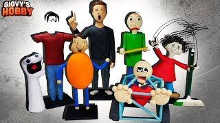 ALL CHARACTERS! ★ Baldi's Basics in Education and Learning ➤ Polymer clay Tutorial Giovy