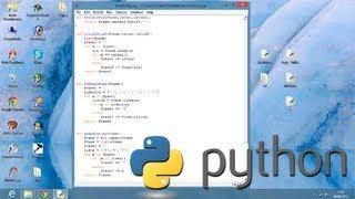 Vídeo Aula - Python 3.3.0 - Aula 6 - Português - Tutorial