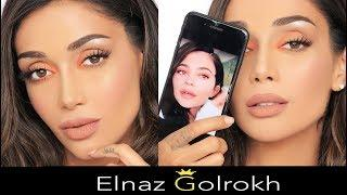 Kylie Jenner Vogue Makeup Tutorial | Elnaz Golrokh  الناز گلرخ