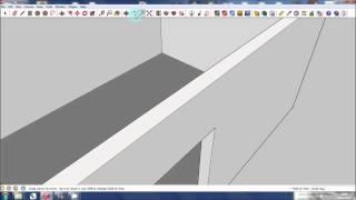 Google SketchUp Tutorial - Basic House Shape