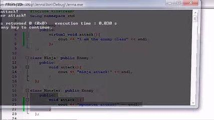 57. C++ Programming Tutorials - Abstract Classes and Pure virtual Functions