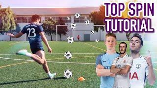 TOP SPIN TUTORIAL | EL EFECTO DE BALE, DE BRUYNE, ERIKSEN...