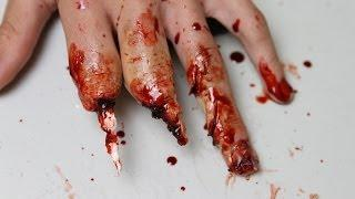 Tutorial: Mutilated Hand Makeup (Using Wax)