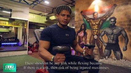 Biceps Kaise Banaye Janiye Mr. India, Manoj Patil Fitness Trainer Se